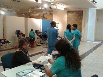 Se realizó la jornada de donación de sangre en AMIA
