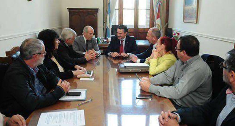 Galassi presidió una reunión de la Paritaria Central