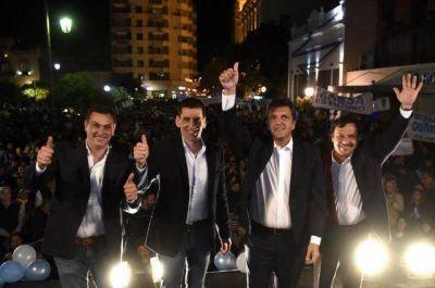 Massa cerró su gira en la plaza Independencia