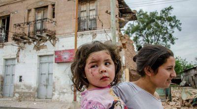 Por el sismo murió una mujer, hubo 30 heridos y casas destruidas