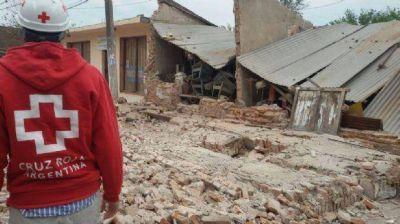 La Cruz Roja realiza acciones de evaluación y respuesta en El Galpón