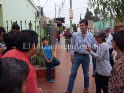 Urtubey en El Galpón: