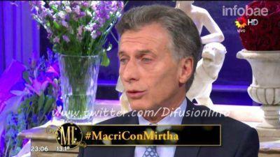 Mauricio Macri sobre su riqueza: