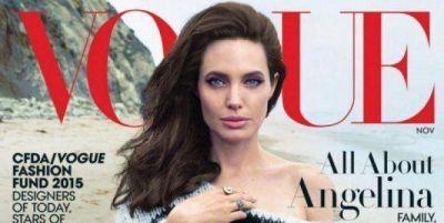 Tras el escándalo por sus 37 kilos, Angelina Jolie y sus hijos son tapa de Vogue