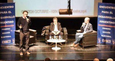 Peirano y Marangoni encabezaron el Encuentro para el Desarrollo Argentino en la UNSAM