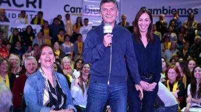 Macri cerr� su campa�a en la Primera secci�n junto a Ivoskus