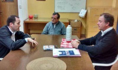 Lucas Fiorini se reunió con autoridades de Cáritas