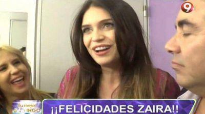 Zaira Nara confirmó su embarazo: