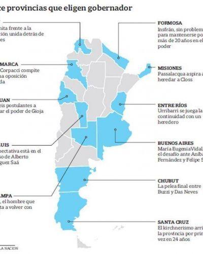 Buenos Aires y Santa Cruz, las dos provincias que desvelan al kirchnerismo