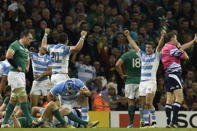 Gigantes que hacen historia: los Pumas vencieron a Irlanda y están otra vez en las semifinales de un Mundial