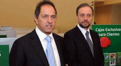 Scioli anunció que de ser Presidente nombrará a Marangoni al frente del Banco Nación