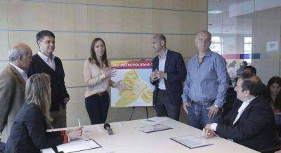 Vidal anunció una red de 6 metrobuses para el Conurbano