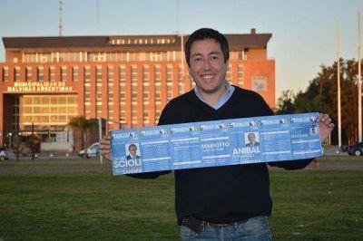 Leonardo Nardini dice liderar las encuestas en Malvinas Argentinas