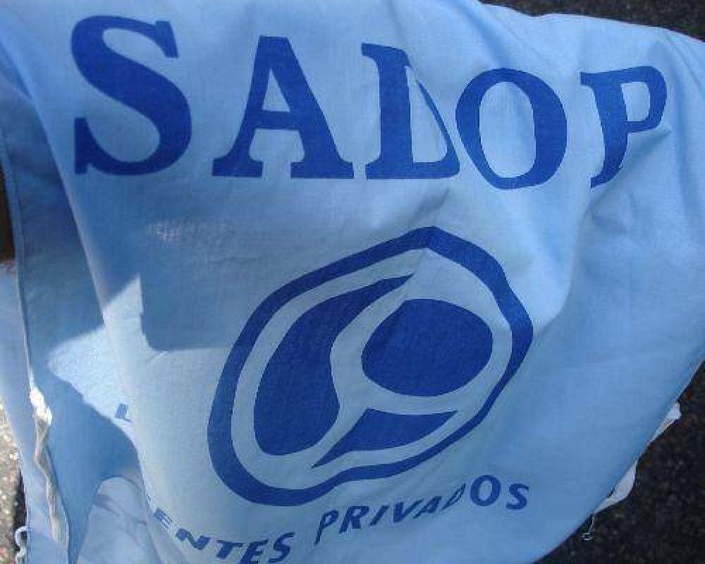 Sadop exigió al Gobierno que brinde respuesta a sus reclamos