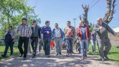 Hernán Sabbatella sigue su recorrida por los barrios
