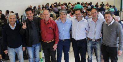 La Unión Ferroviaria expresó su apoyo a Scioli y a Manino Iriart