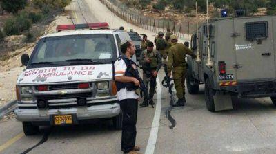 Ataque terrorista en Cisjordania: un hombre fue abatido tras apu�alar a un soldado israel�