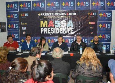 El Frente Renovador ya no apoya a su candidato Jesús Cariglino