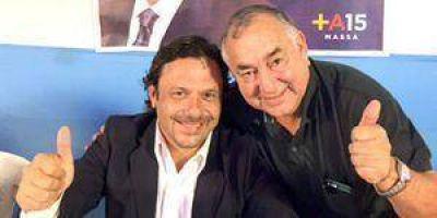 Amarilla compartió encuentro con Sáenz, el Vice de Massa