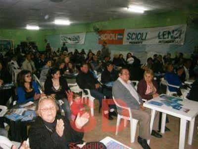 Se realizó el acto plenario en San Cayetano