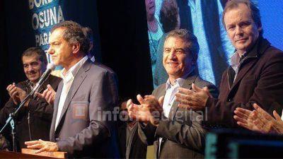 Scioli cierra campaña en Paraná con Urribarri, Bordet y Osuna