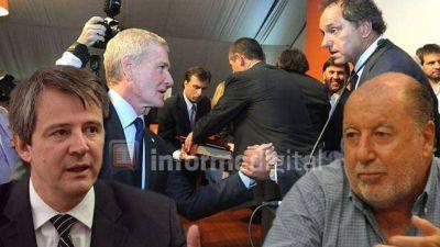 Bahl le contest� a Busti y justific� el apoyo de De Narv�ez a Scioli