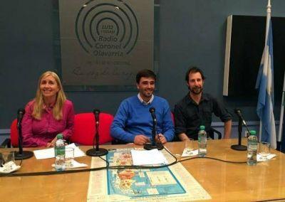 Los candidatos en Radio Olavarría