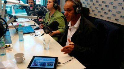 Scioli, en Radio 10: