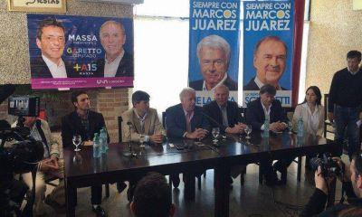 En persona y con críticas a Scioli, De la Sota cerró campaña de Massa en Córdoba