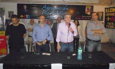 La agrupaci�n massista Per�n Vive le dio su apoyo a Diego Valenzuela