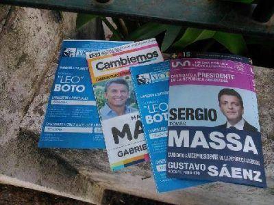 Progresistas denuncia al FpV por el reparto de boletas cortadas