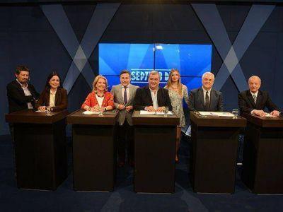 Minería, narcotráfico y corrupción fueron los ejes del debate de los candidatos mendocinos a diputados nacionales