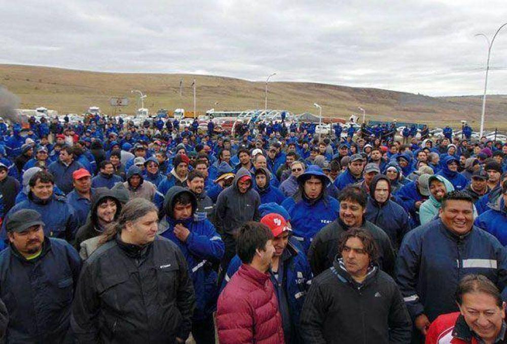 El Yacimiento de Río Turbio está totalmente parado. Cerca de 1000 trabajadores apoyaron paro y exigen renuncias
