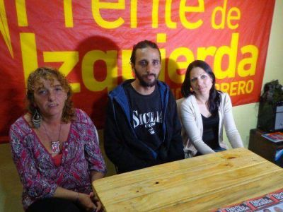 """El Frente de Izquierda cerró su campaña """"contra la precarización"""""""