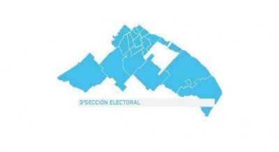 Distrito por distrito, todos los candidatos y los escenarios en la tercera sección electoral