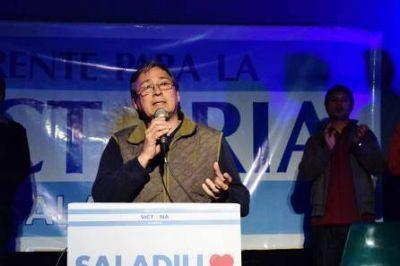 Somos parte de un proyecto político que pretende transformar Saladillo