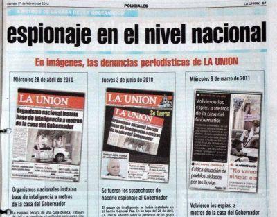 El espionaje a dirigentes de la oposición es un tema de vieja data en Catamarca