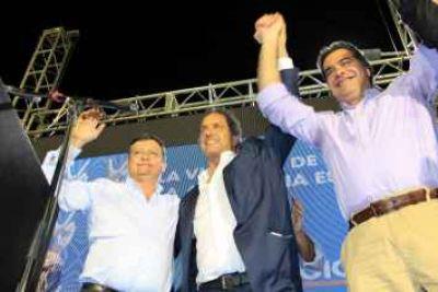 Desde Barranqueras, el FpV cierra hoy su campaña local en apoyo a Scioli-Zannini