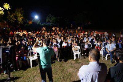 Multitudinario acto de cierre de campaña del Frente Amplio Formoseño
