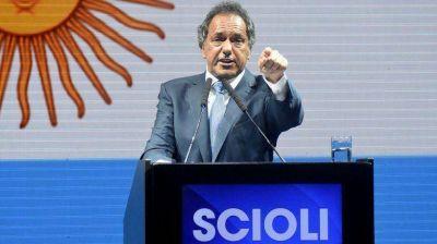 Daniel Scioli prometió llevar el piso del Impuesto a las Ganancias a $25 mil