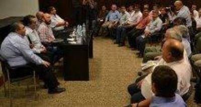 Insfran recibió un fuerte respaldo de los pastores evangélicos de toda la provincia