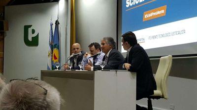 Bosetti representó a La Rioja en el cierre de la campaña digital de #ScioliPresidente