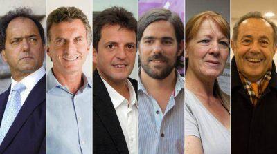 Los seis candidatos cerraron sus campañas y hoy comienza la veda
