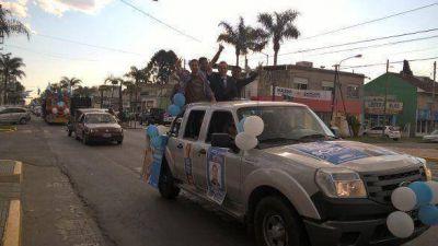 Cierre de campaña del Frente para la Victoria en Tigre