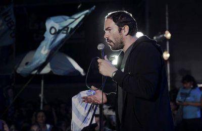 """Matías Molle: """"Nuestras propuestas son las que los vecinos escribieron"""""""