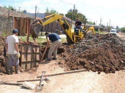 Avanza la construcci�n de los conductos en la Cuenca del Canal Watzenborn