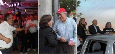 Ciminari, Feito y Fernández cerraron sus campañas