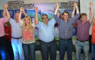 Kosiner y Navarro cerraron campaña sin Javier David