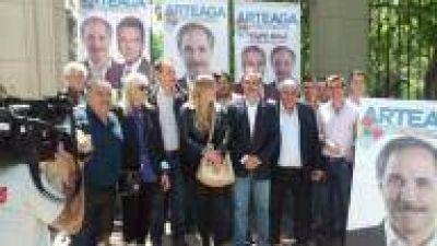 La Plata: Arteaga cerró su campaña en el Zoológico y se siente ganador