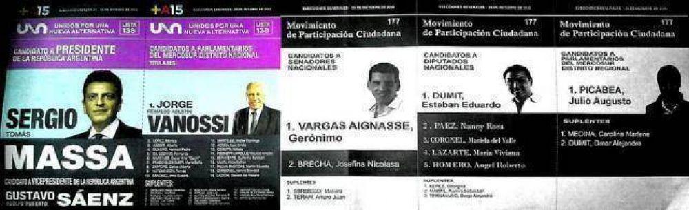 Otro cruce por los votos de Massa